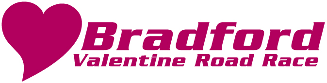 Logo The Bradford Valentine Road Race
